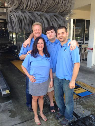 The D'Eri family, owners of Rising Tide Car Wash in Parkland, Fla., have been invited to speak at an upcoming autism conference. (Photo: PRNewsFoto/Rising Tide Car Wash)
