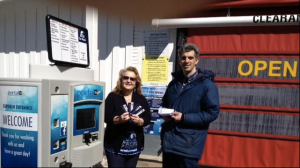 Wave Car Wash owner and operator Ed Steremberg is hosting a coupon book fundraiser. (Photo: Hartford Courant)