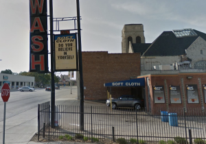 A car wash in Detroit has become known for its inspirational marquee. (Photo: Google screenshot)