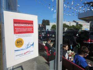 Divisadero Touchless Car Wash will start taking Wednesdays off to save water during California's drought. (Photo: Divisadero)