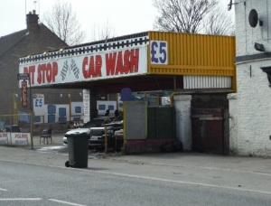The Pit Stop Car Wash in Shipley. Photo by Telegraph & Argus.