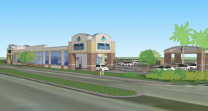 A rendering of the new car wash. | The Real Deal