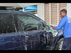Budding car wash businessman Peter Masemola is changing his own destiny as he prepares to register his business. | Gopolang Chawane, Pretoria East Rekord