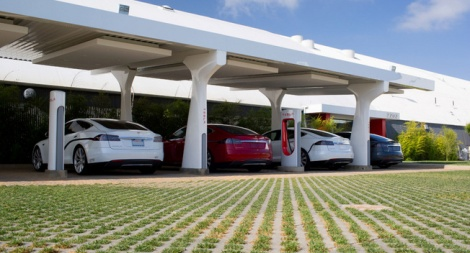 Tesla Supercharger Stations Could Soon Offer CarWashes
