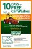 10 Days Of Free Car Washes At Quick Quack GrandOpening