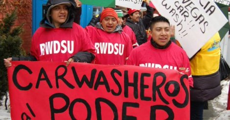 New York State Legislators Fighting for Minimum Wage for Carwasheroes.